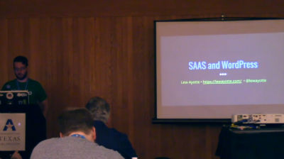 Lew Ayotte: SaaS and WordPress