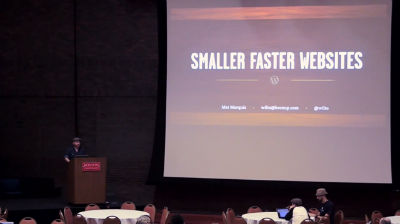 Mat Marquis: Smaller, Faster Websites