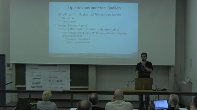 Marc Nilius: Updates in WordPress – Wie? Wo? Was? Warum?