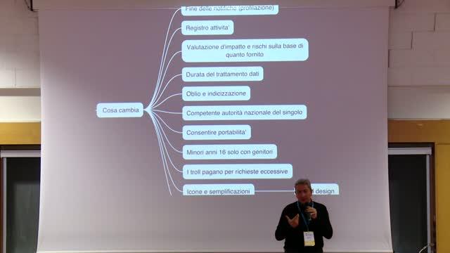 Valentino Spataro: Riforma della privacy e consigli operativi per sviluppare siti