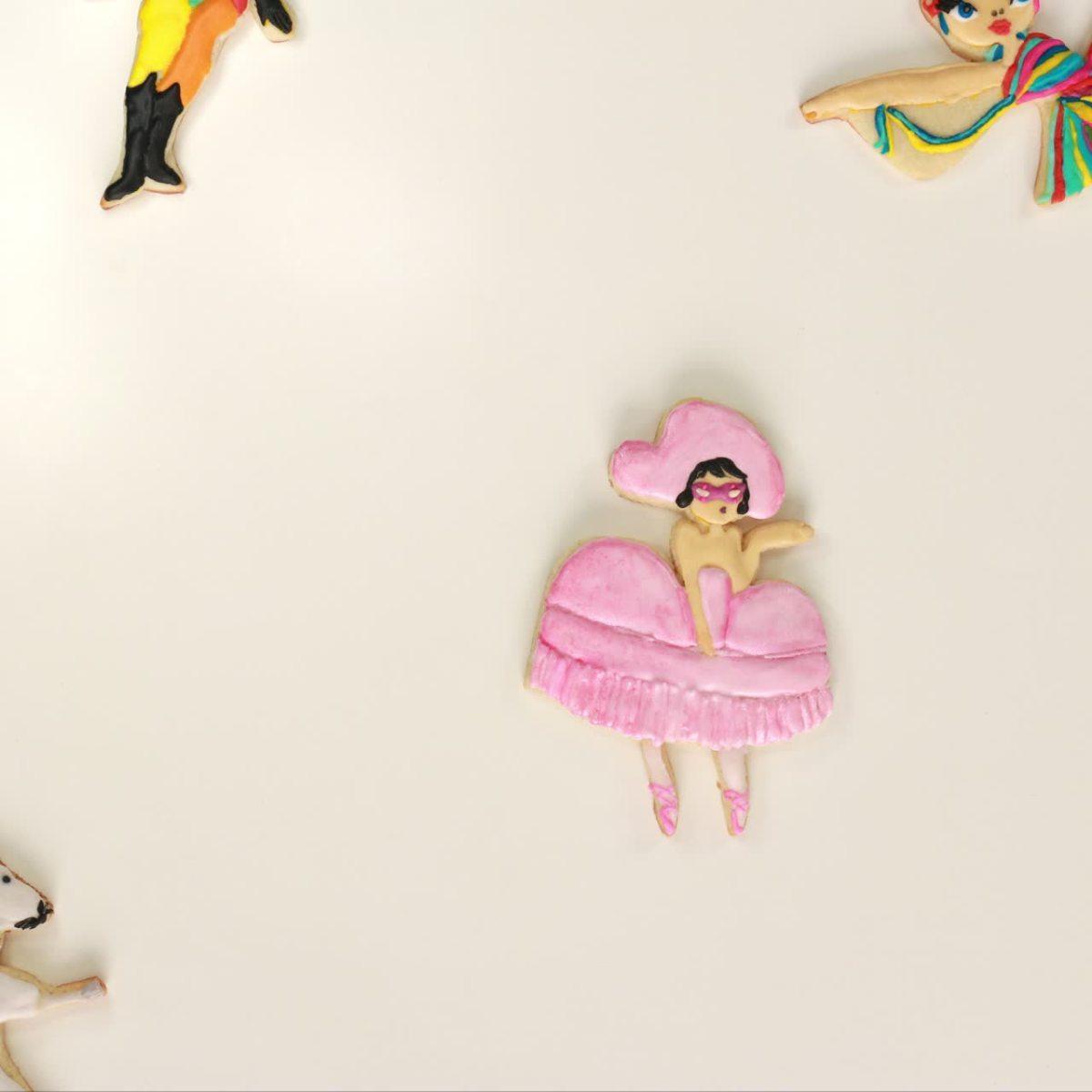 Diy Sugar Cookies Inspired By Miami City Ballet S All New Nutcracker