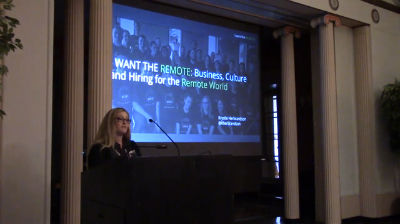 Krystle Herbrandson: I Want The REMOTE - Business, Culture And Hiring For The Remote World