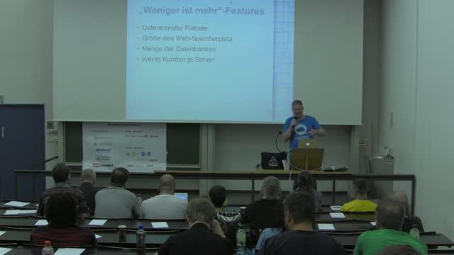 Carsten Logemann: Managed Hosting – Kompromisse bezüglich Sicherheit, Flexibilität, Performanz und …