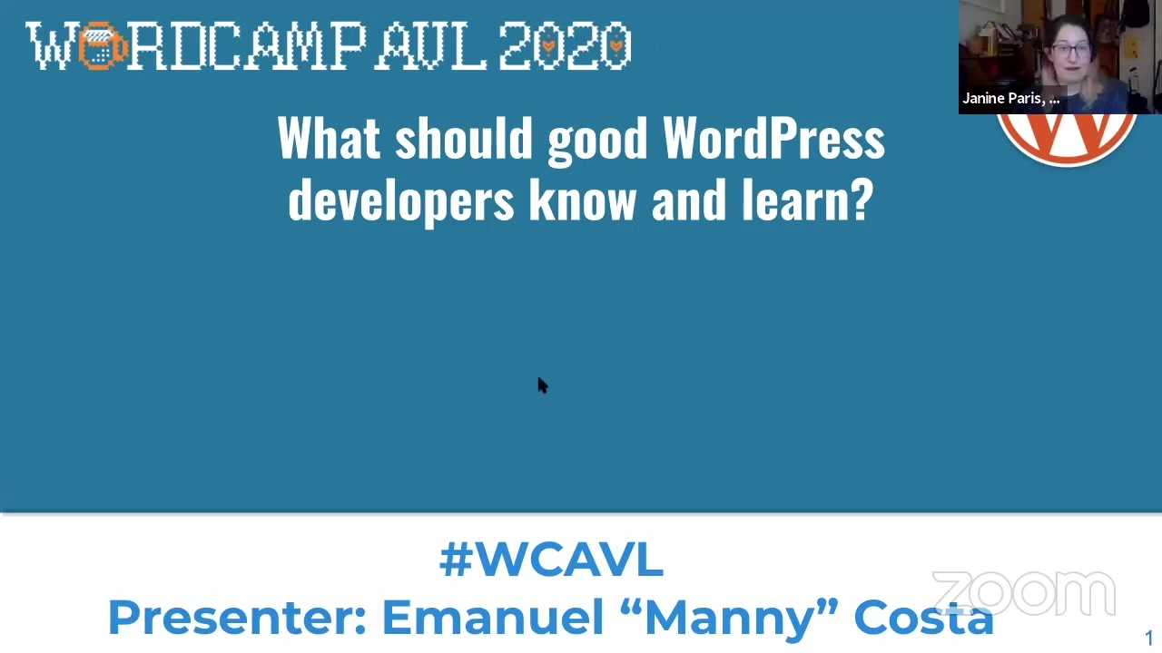 Emanuel Costa: What Should Good WordPress Developers Know and Learn?