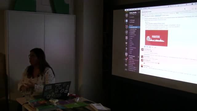 Rocío Valdivia: Cómo funciona y se organizan miles de personas en el proyecto de WordPress