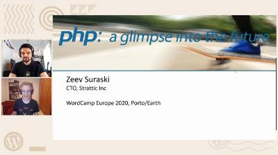 Zeev Suraski: PHP - A glimpse into the future