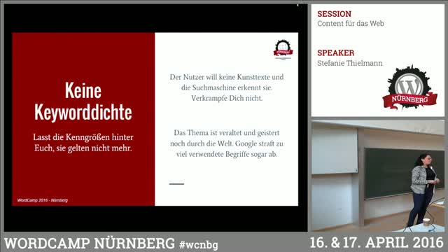 Stefanie Thielmann: Content für das Web