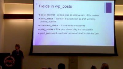 Rene Morozowich: Your New BFFs: The WordPress Core Tables + the MySQL Database