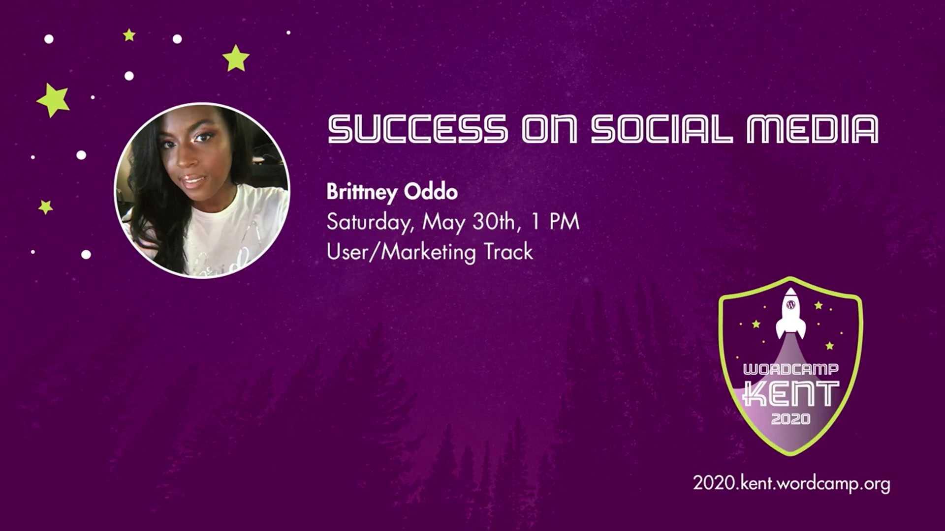 Brittney Oddo: Success on Social Media