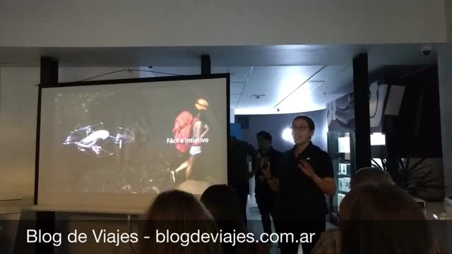 Presentación DJI Mavic Air en Buenos Aires