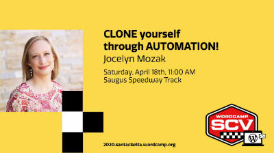 Jocelyn Mozak: CLONE yourself through AUTOMATION!