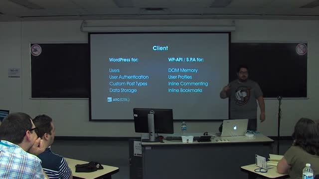 Roy Sivan: Building Client Side Web Applications with WordPress and WP-API