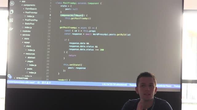 Thomas Deneulin: [Atelier] Démarrons un thème WordPress … en ReactJS !