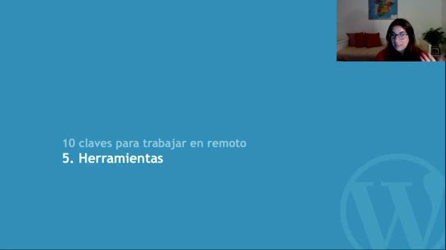 Rocío Valdivia: 10 claves para trabajar en remoto (después de más de 6 años trabajando así)