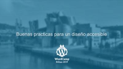 Juan Regueras Sánchez: Buenas practicas para un diseño accesible