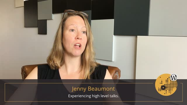 Jenny Beaumont: Second Day Summary at WordCamp Europe 2017