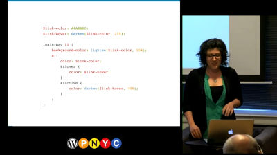"Lara Schenck: Sass – ""CSS With Superpowers"""