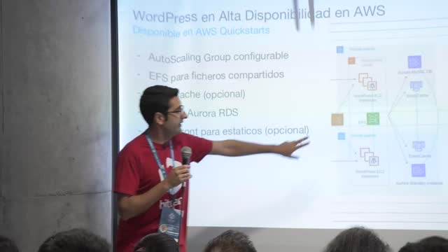 Beltrán Rueda: WordPress en alta disponibilidad en AWS