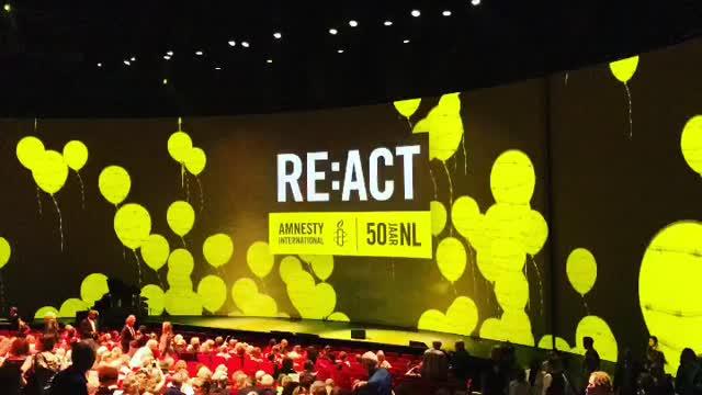 act 50 jaar Amnesty / 50 Jaar NL   Meneermineur act 50 jaar