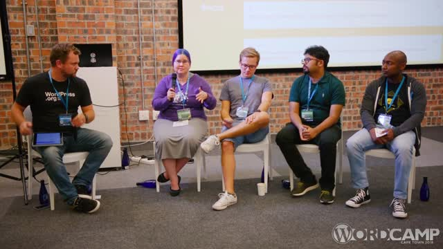 Panel: Contributing to WordPress