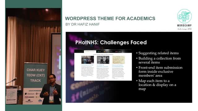 Dr. Hafiz Hanif: WordPress Theme for Academics