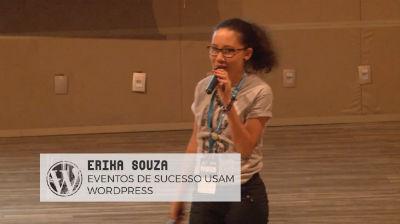 Erika Souza: Eventos de sucesso usam Wordpress