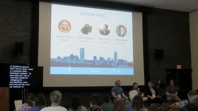 Panel: Design