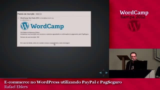 Rafael Ehlers: E-commerce no WordPress utilizando PayPal e PagSeguro