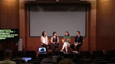Aimee Gonzalez-Cameron, Julia Smith, Paul Olund: Hiring and Career Roundtable