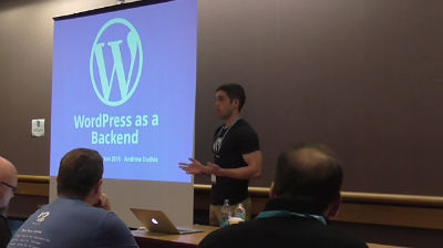 Andrew Duthie: WordPress as a Backend
