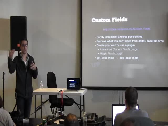 Cody Helgeson: Custom Post Types: Now What?