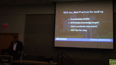 Arsen Rabinovich: SEO 101 for 2018 – 2019