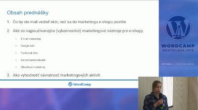 Svetlana Durčáková: Ako na marketing eshopu