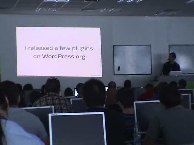 Marko Heijnen: Building Plugins Like A Pro