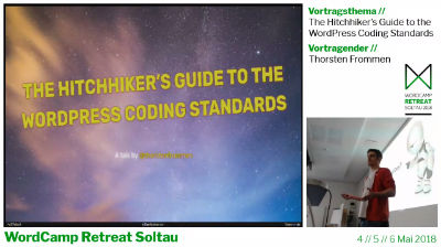 Thorsten Frommen: The Hitchhiker's Guide to the WordPress Coding Standards