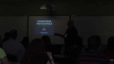 Cameron Barrett: WordPress for Schools