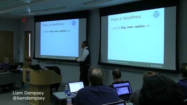 Liam Dempsey: Designing For WordPress