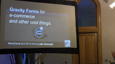 Luke Cavanagh: Gravity Forms For e-Commerce And Other Cool Things