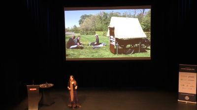 Marieke Vinckers: Vrijbuiter vlogt op bakfiets