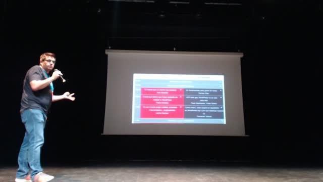 Mariano Pérez y Rafa Poveda: Presentación WordCamp Sevilla 2018
