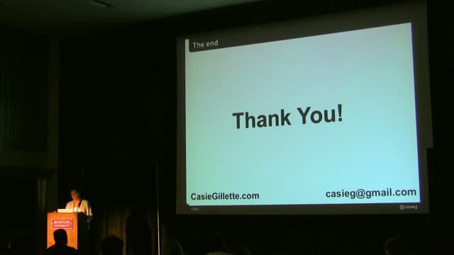 Casie Gillette: SEO and WP: Killing It In 2012
