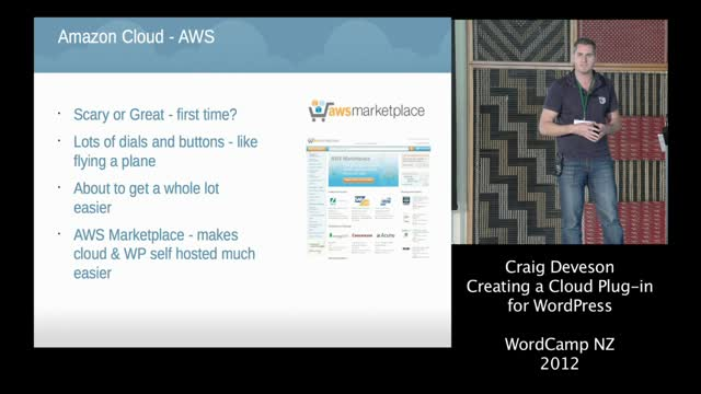 Craig Deveson: Creating a Cloud Plugin for WordPress