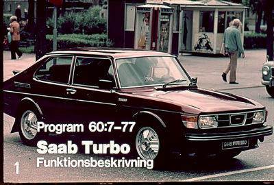 Saabvisionen Band 60 Saab Turbo Funktionsbeskrivning
