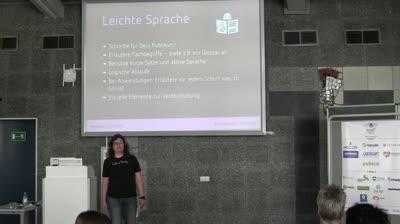 Elisabeth Hölzl: Barrierefreiheit – Internet für Alle