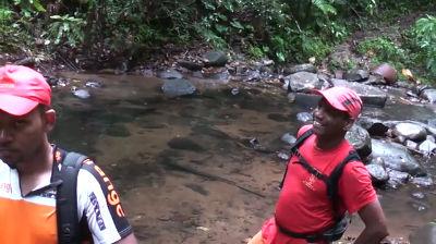 Trace de rivière quiock