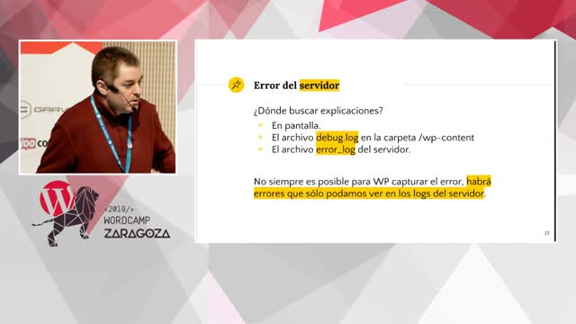 Samuel Aguilera: Diagnóstico de incidencias para dummies