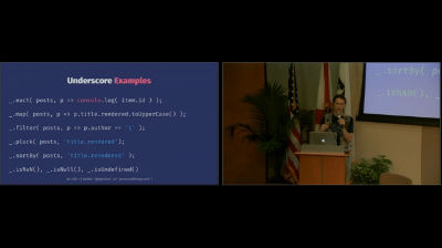 Zac Gordon: Use Cases For Javascript Frameworks