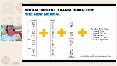 Merary Alvarado: Accessibility - digital transformation or social digital transformation?