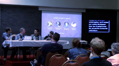 Discussion Panel : Working in the Open (Source)