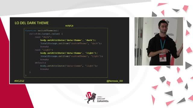 Aleix Martí Carmona: Creando un dark theme con variables CSS (únete al lado oscuro)